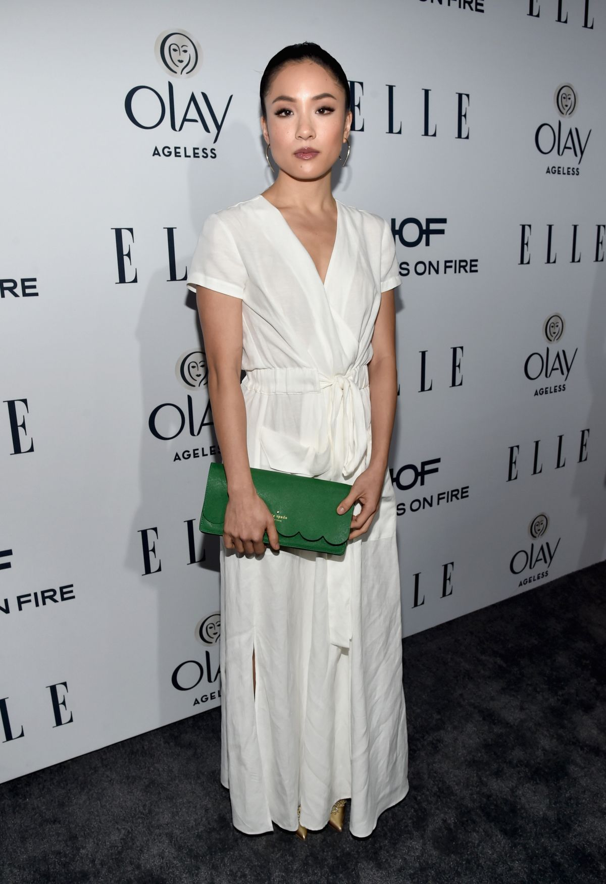 CONSTANCE WU at Elle
