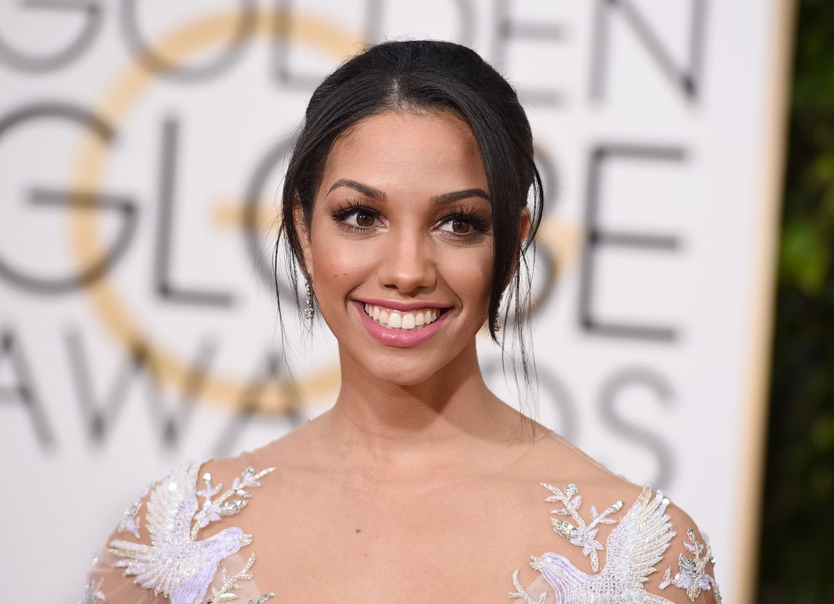 CORINNE FOXX at 73rd Annual Golden Globe Awards in Beverly Hills 10/01/2016