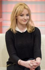 DAKOTA BLUE RICHARDS at Good Morning Britain in London 01/15/2016
