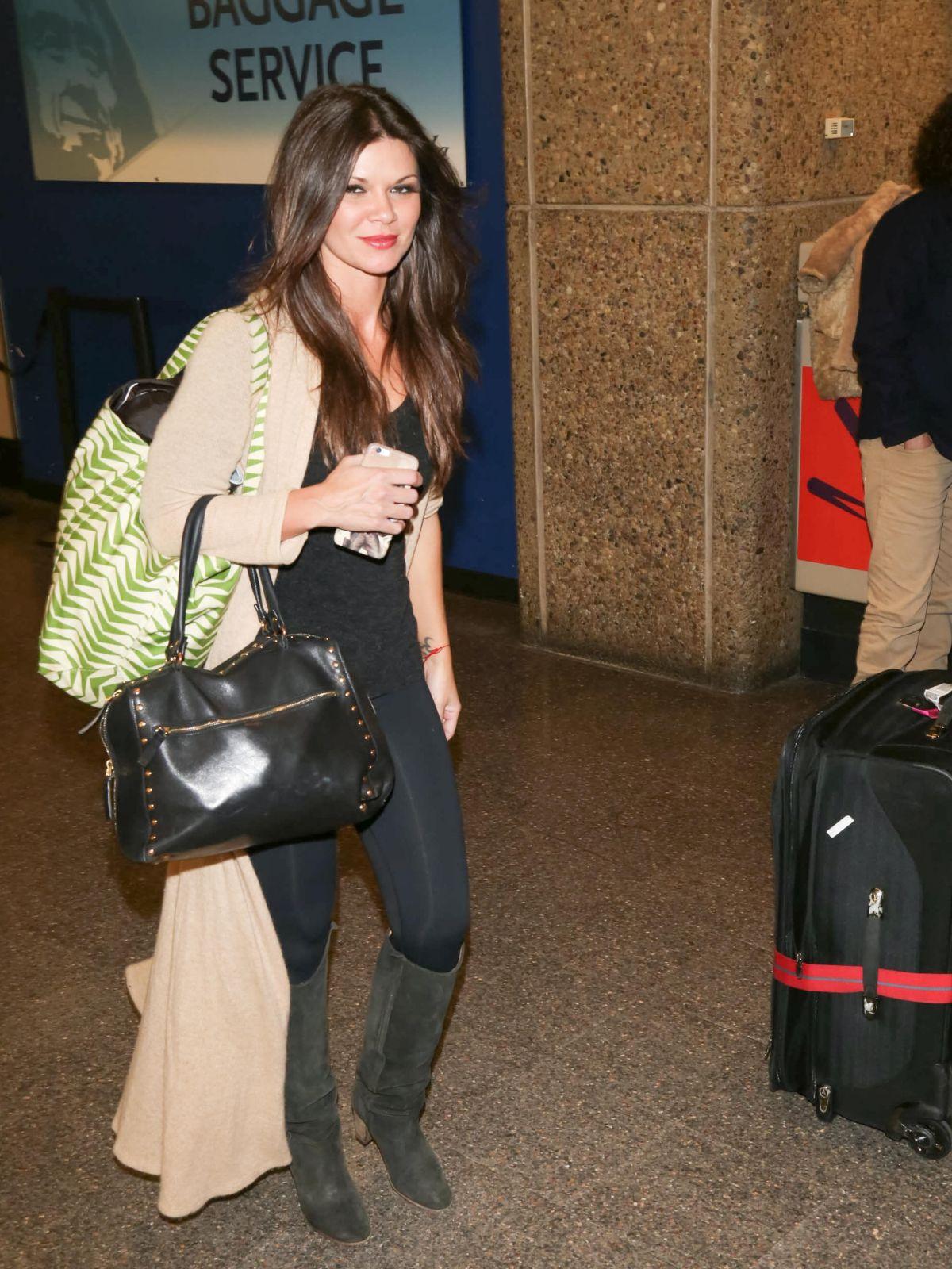 DANIELLE VASINOVA Arrives at SLC Airport for Sundance Film Festival 01/21/2016