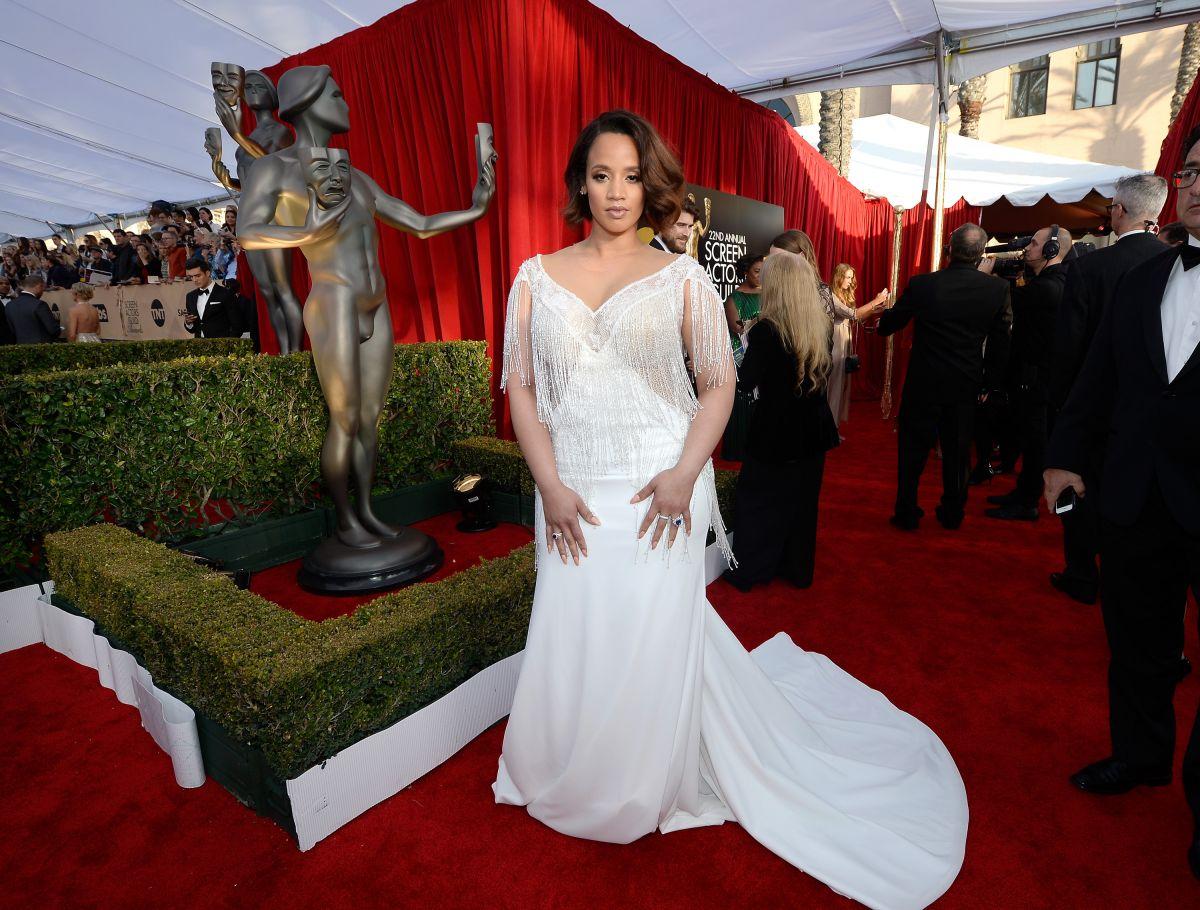 DASCHA POLANCO at Screen Actors Guild Awards 2016 in Los Angeles 01/30/2016