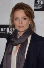 DINA MEYER at Little Dead Rotting Hood Premiere in Hollywood 01/18/2016