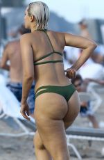 DJ YESJULZ ion Bikini at a Beach in Miami 12/30/2015