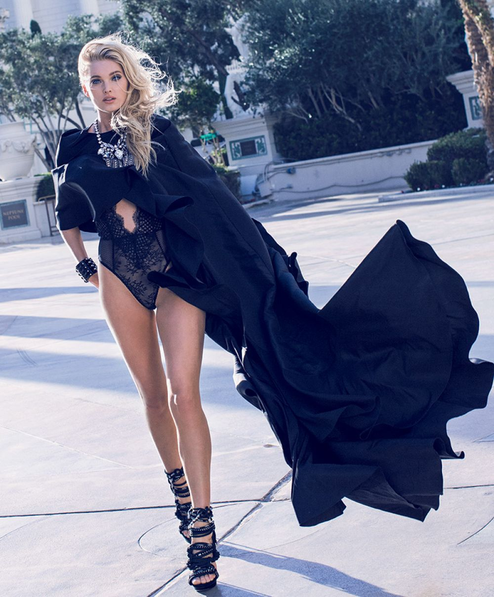 ELSA HOSK in Maxim Magazine, February 2016 Issue