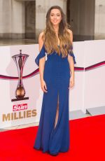 EMILY MACDONAGH at The Sun Military Awards in London 01/22/2016