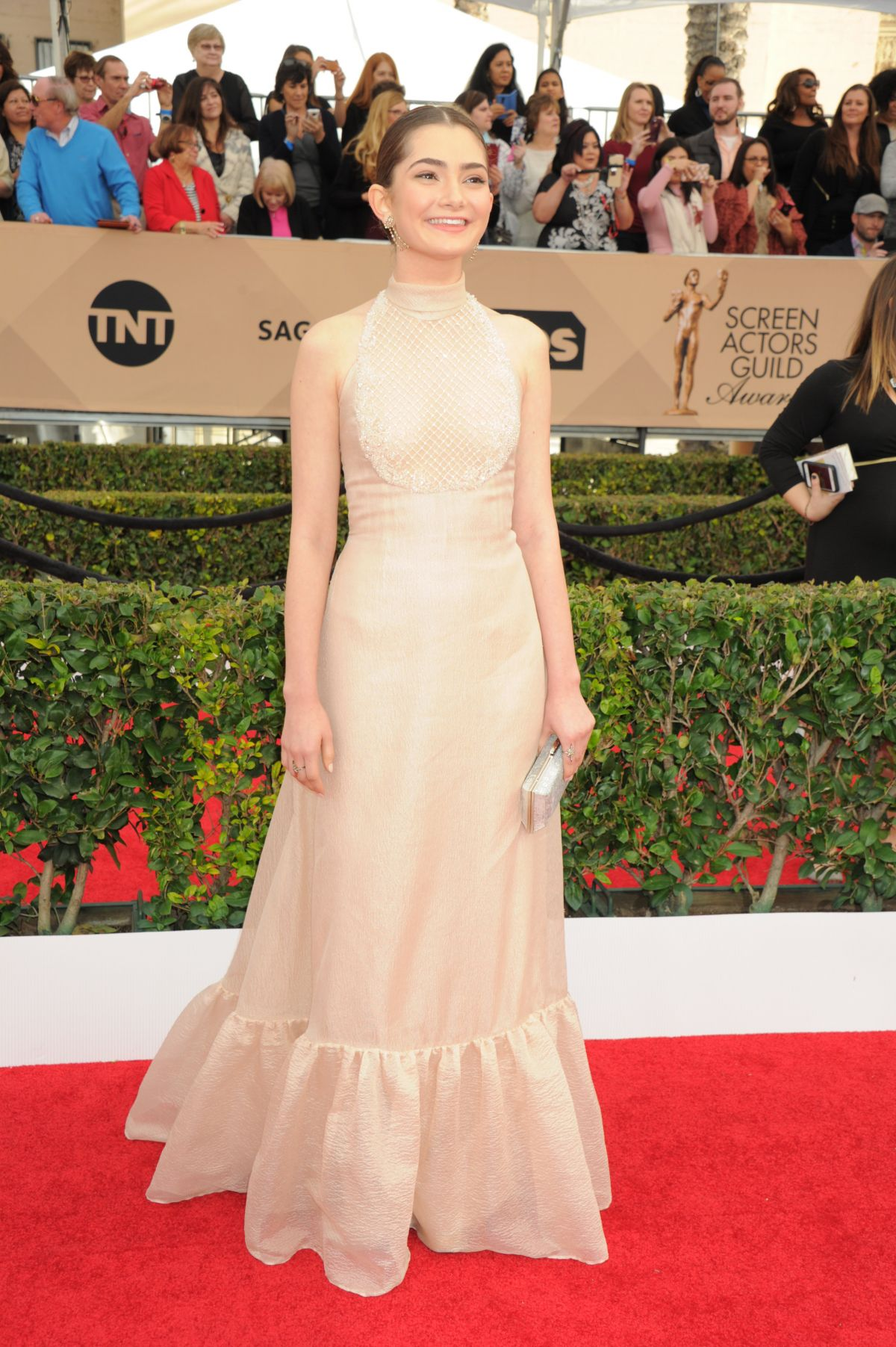 EMILY ROBINSON at Screen Actors Guild Awards 2016 in Los Angeles 01/30/2016