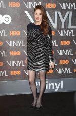 EMILY TREMAINE at Vinyl Premiere in New York 01/15/2016