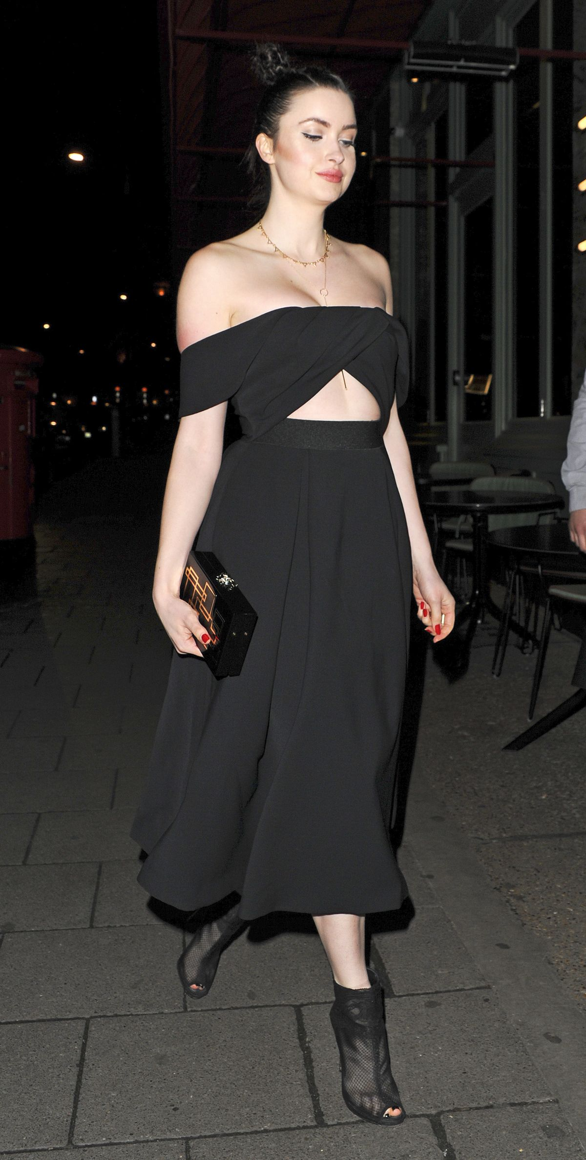 EMMA MILLER at Sexy Fish Restaurant in London 01/11/2016