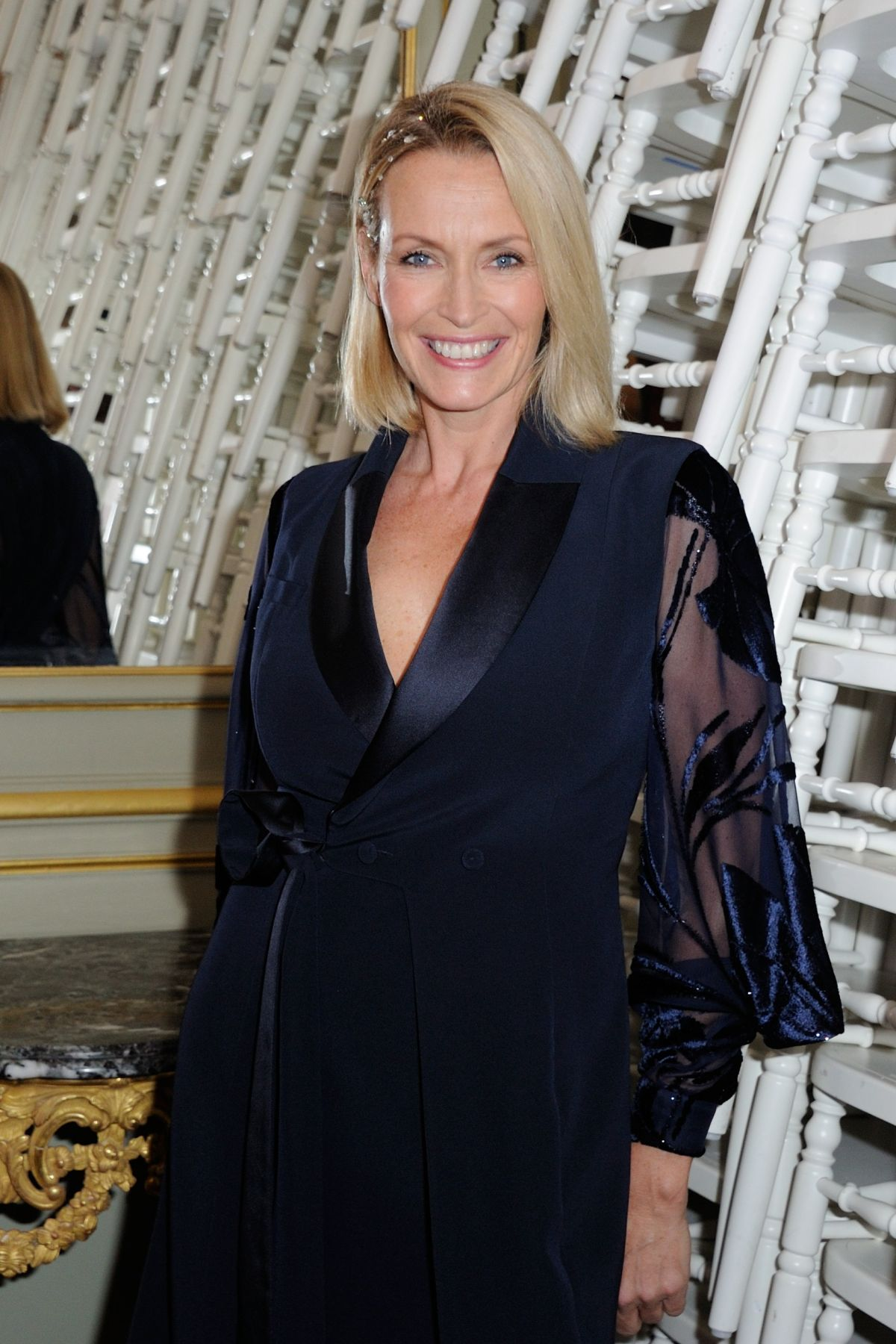 ESTELLE LEFEBURE at Alexis Mabille Fashion Show in Paris 01/25/2016