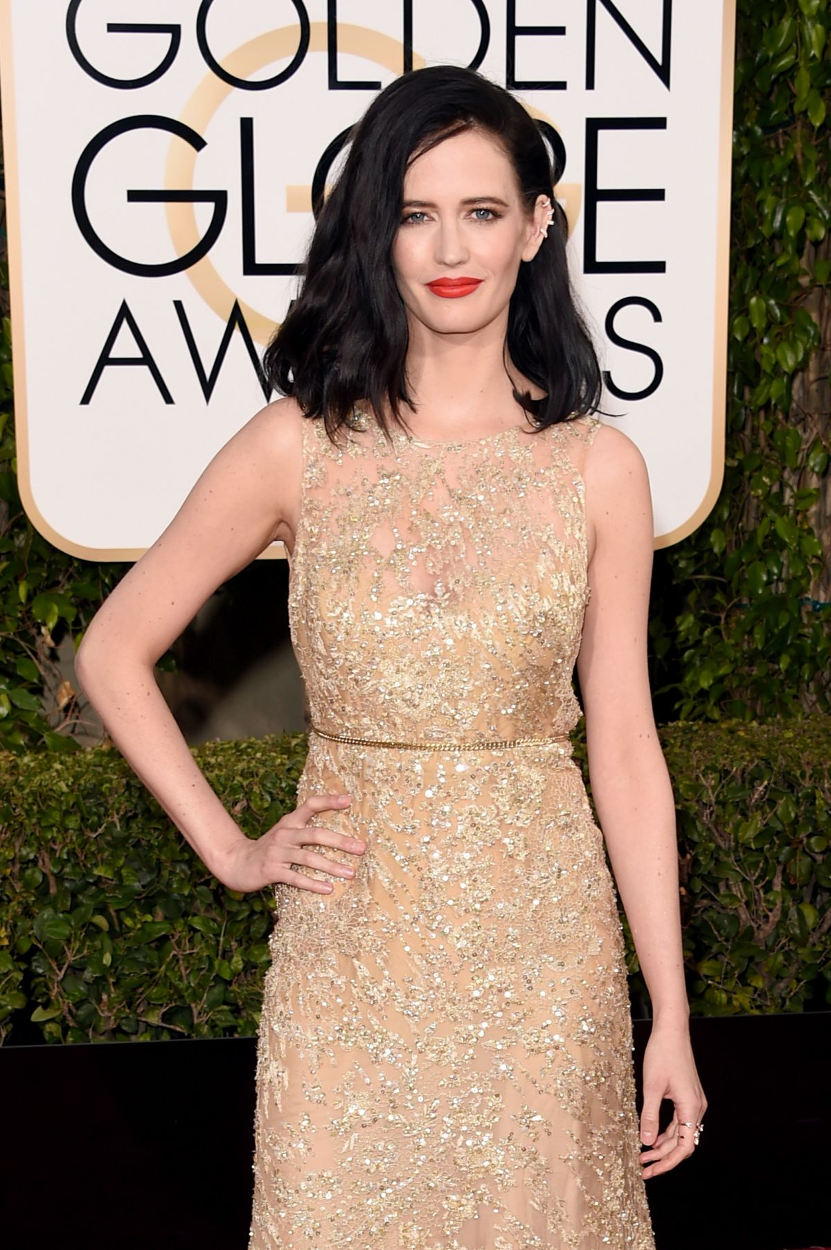 EVA GREEN at 73rd Annual Golden Globe Awards in Beverly Hills 10/01 ...
