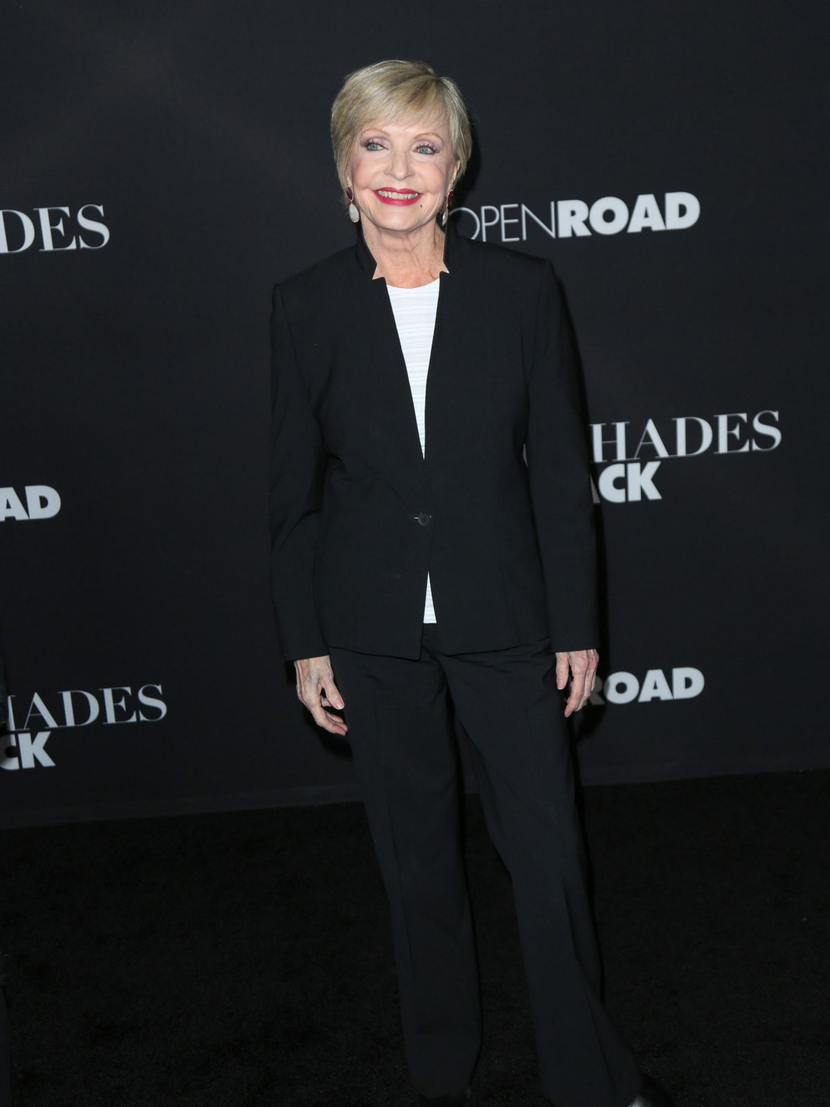 FLORENCE HENDERSON at Fifty Shades of Black Premiere in Los Angeles 01/26/2016
