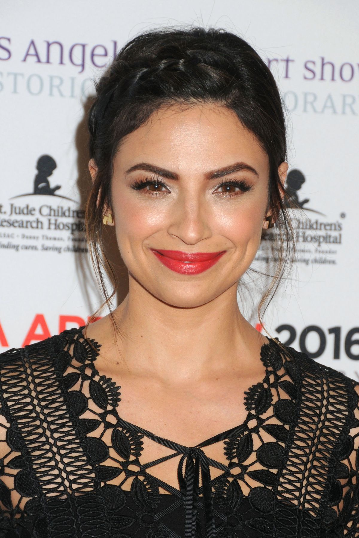 FLORIANA LIMA at LA Art Show and Los Angeles Fine Art Show's 2016 Opening Night Premiere Party 01/27/2016
