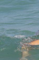 FRANCESCA BRAMBILLA in Bikini at a Beach Miami 01/09/2016