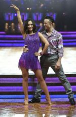 FRANKIE SANDFORD on the Set of Strictly Come Dancing 01/22/2016