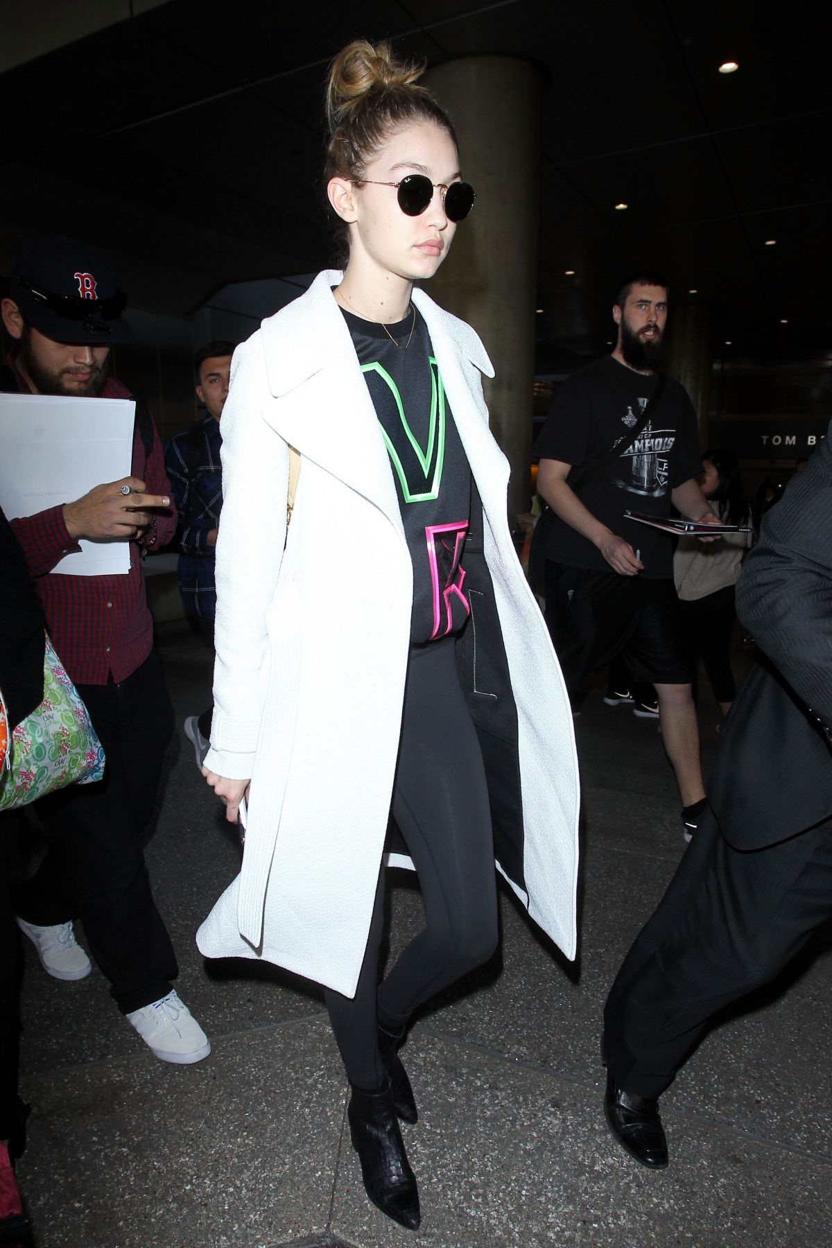 Gigi hadid at lax airport in los angeles new photo