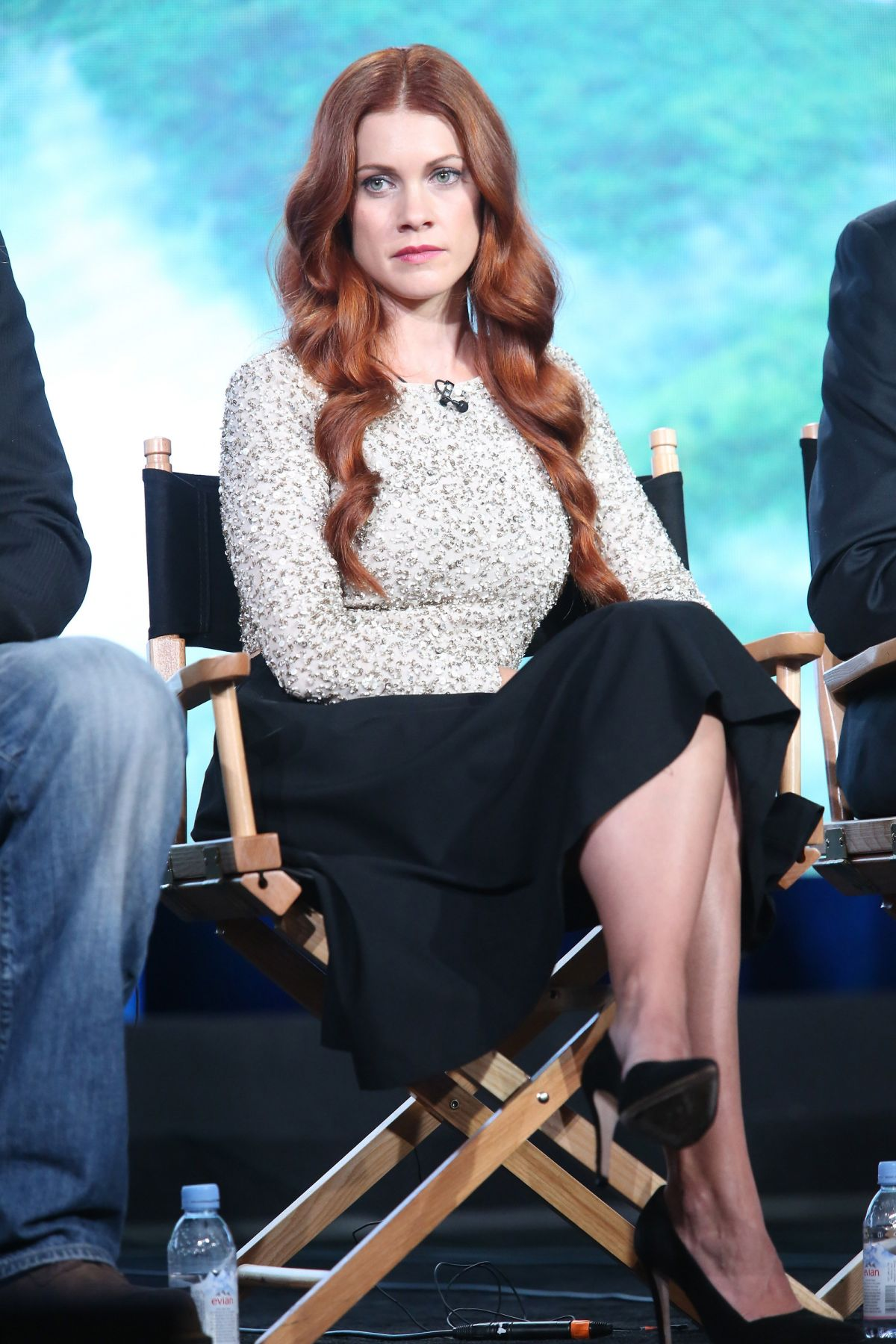 GILLIAN ALEXY at Outsider Panel at 2016 Winter TCA Tour in Pasadena 01/08/2016
