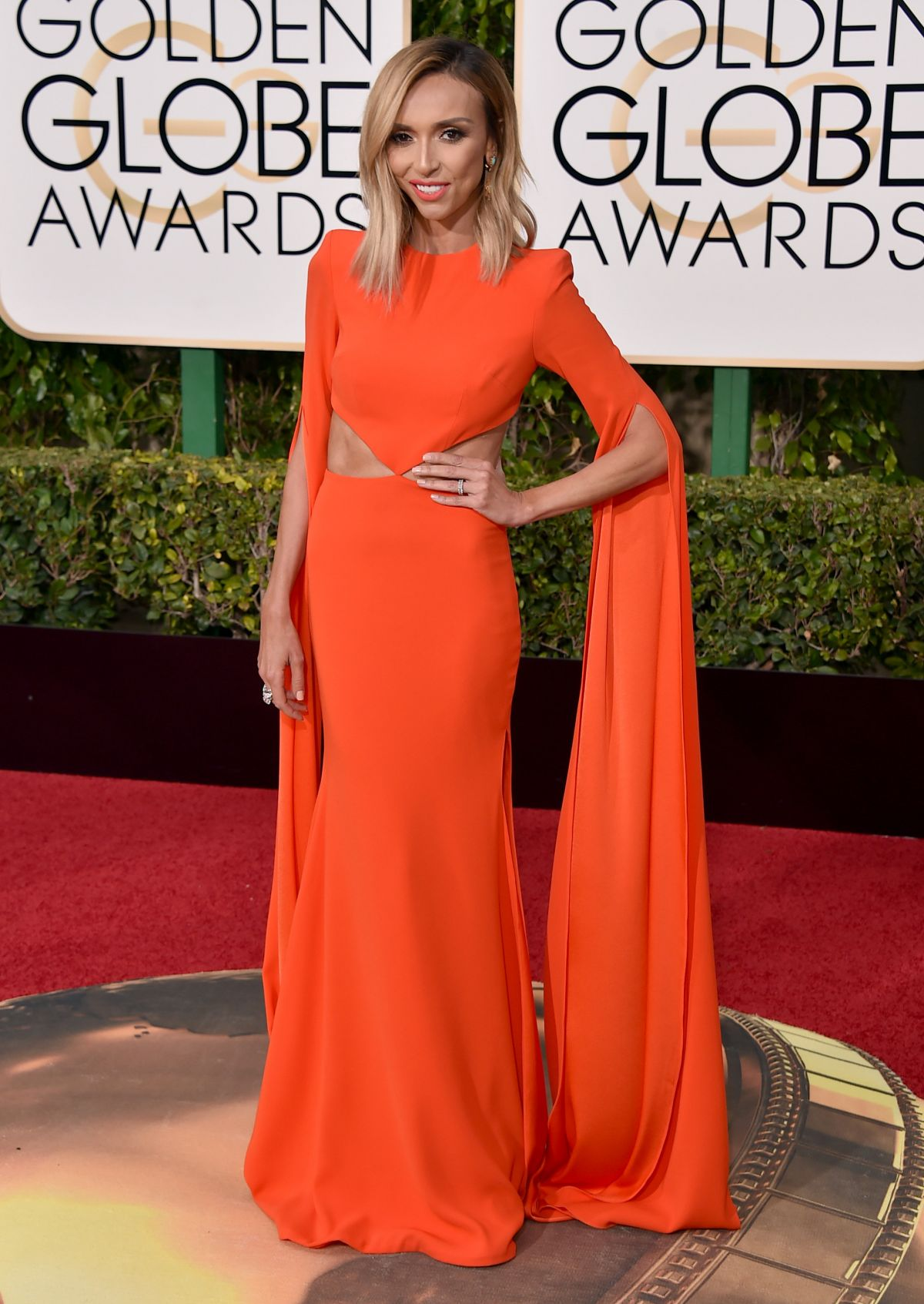 GIULIANA RANCIC at 73rd Annual Golden Globe Awards in Beverly Hills 10/01/2016