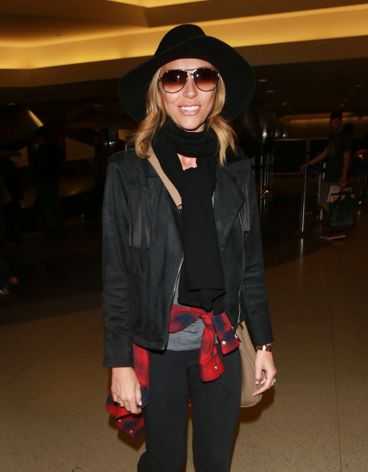 GIULIANA RANCIC at LAX Airport in Los Angeles 01/03/2016