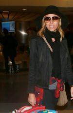 GIULIANA RANCIC at LAX Airport in Los Angeles 01/03/2016