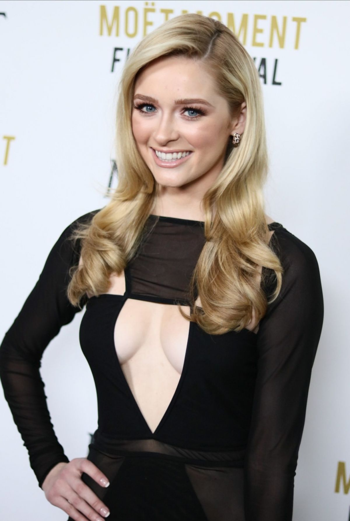 GREER GRAMMER at The Moet & Chandon Celebration: 25 Years ...
