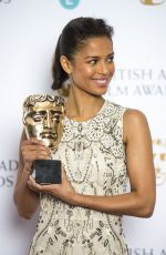 GUGU MBATHA-RAW at EE British Academy Film Awards Nominations Announcement in London 01/08/2016