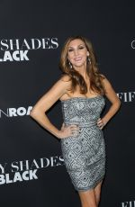 HEATHER MCDONALD at Fifty Shades of Black Premiere in Los Angeles 01/26/2016