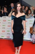 HEIDA REED at 2016 National Television Awards in London 01/20/2016