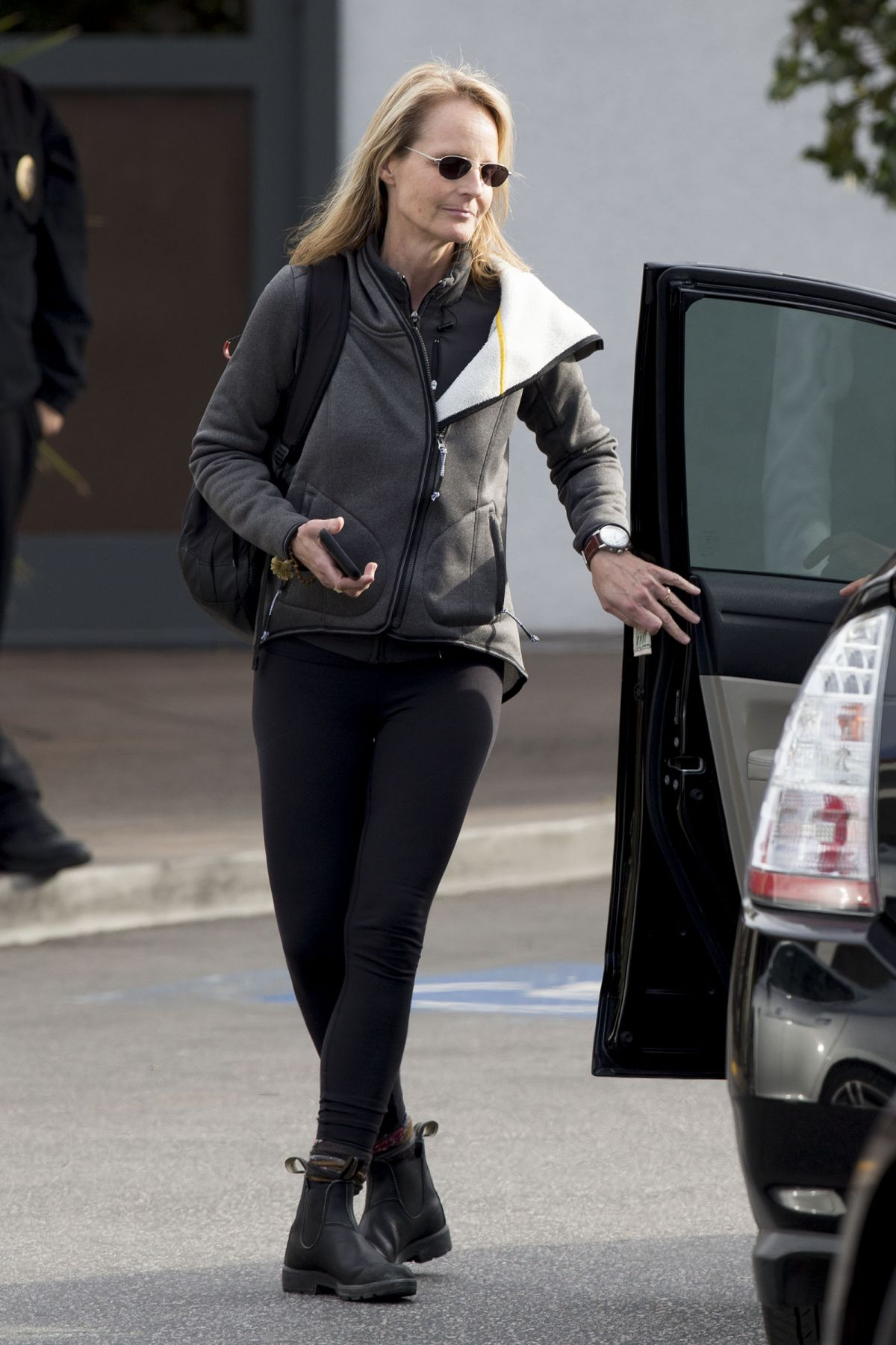 Helen Hunt Out And About In Los Angeles 01 22 2016