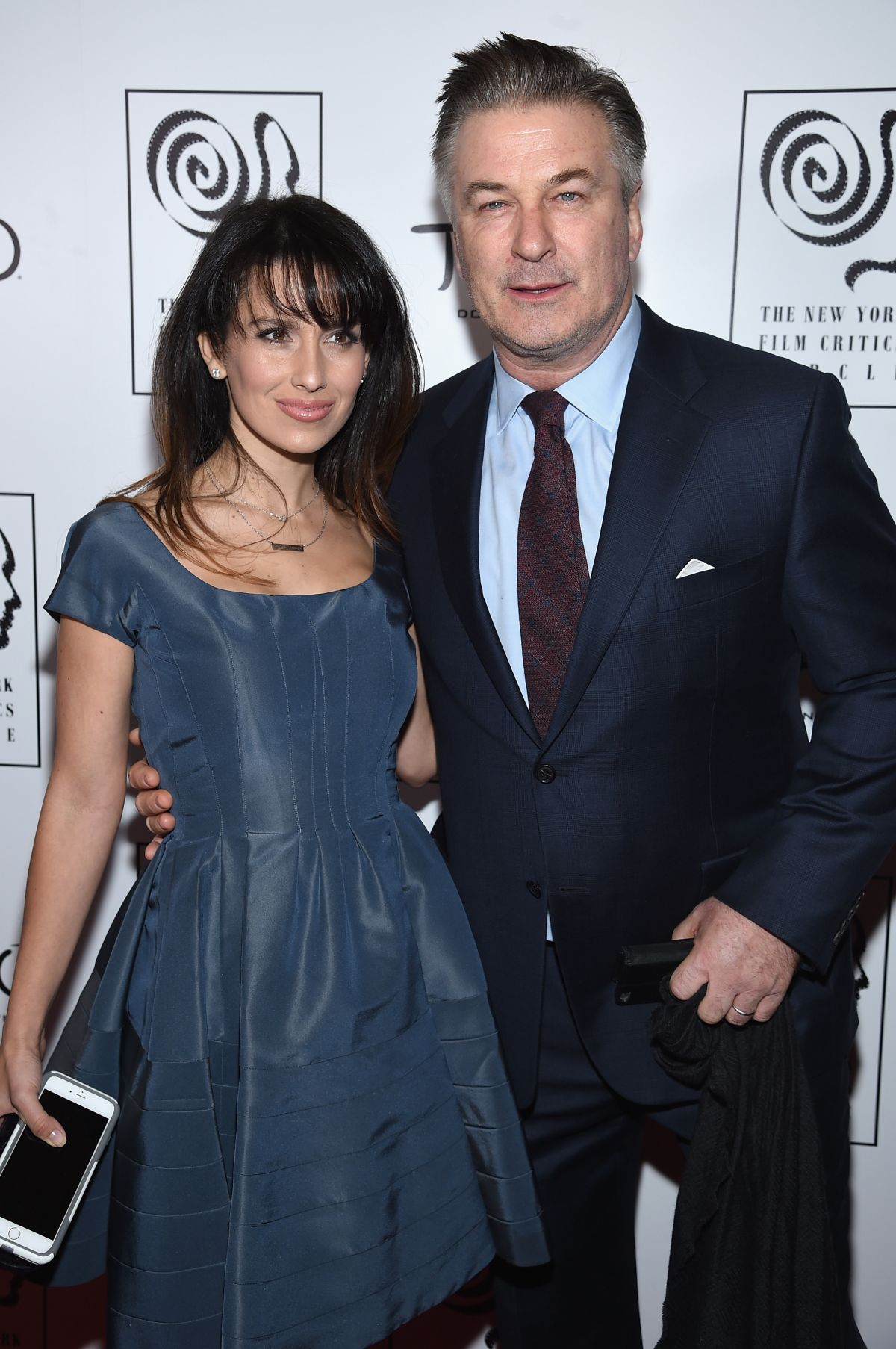HILARIA BALDWIN at 2015 New York Film Critics Circle Awards 01/04/2016
