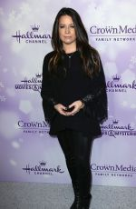 HOLLY MARIE COMBS at Hallmark Channel Party at 2016 Winter TCA Tour in Pasadena 01/08/2016
