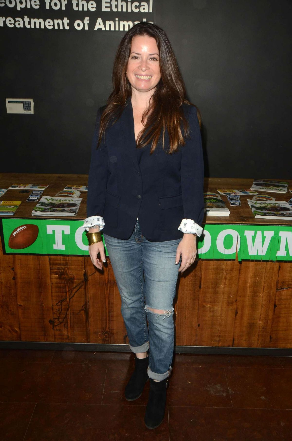 HOLLY MARIE COMBS at Peta Superbowl Party in Los Angeles 01/30/2016