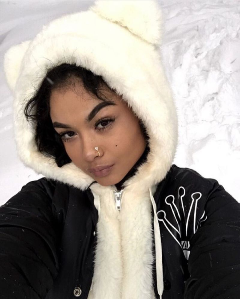 INDIA and CRYSTAL WESTBROOKS on Winter Vacation