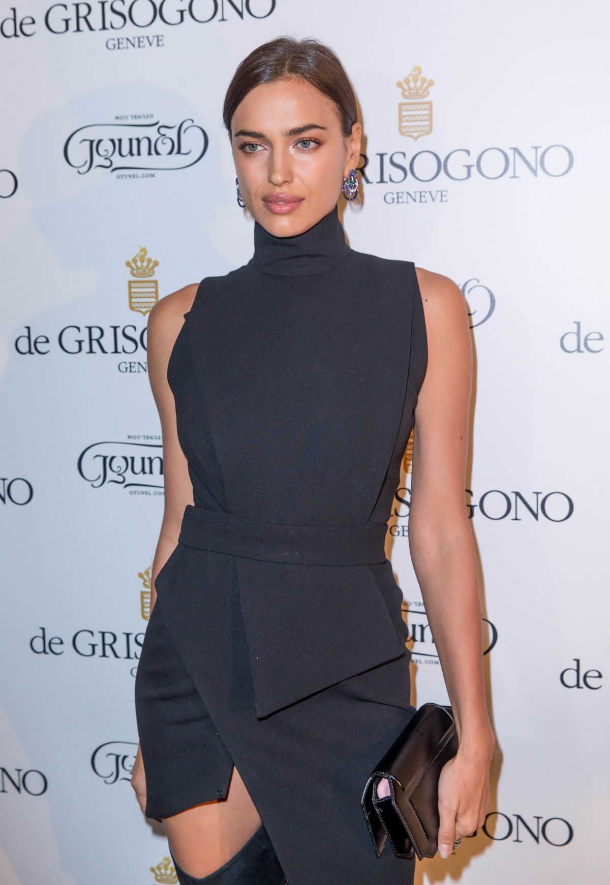 IRINA SHAYK at De Grisogono Photocall at Rue De La Boetie in Paris 01/28/2016