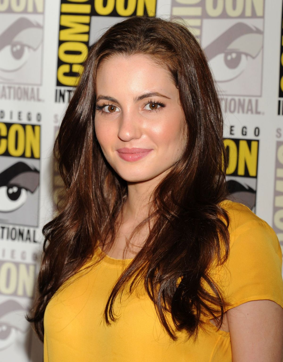 IVANA BAQUERO at The Shannara Chronicles Press Room at Comic-con International in San Diego 07/10/2015