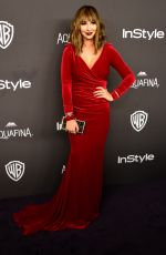 JACKIE CRUZ at Instyle and Warner Bros. 2016 Golden Globe Awards Post-party in Beverly Hills 01/10/2016