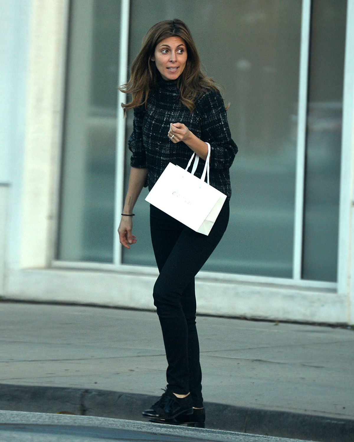 JAMIE-LYNN SIGLER Out and About in Beverly Hills 01/25/2016