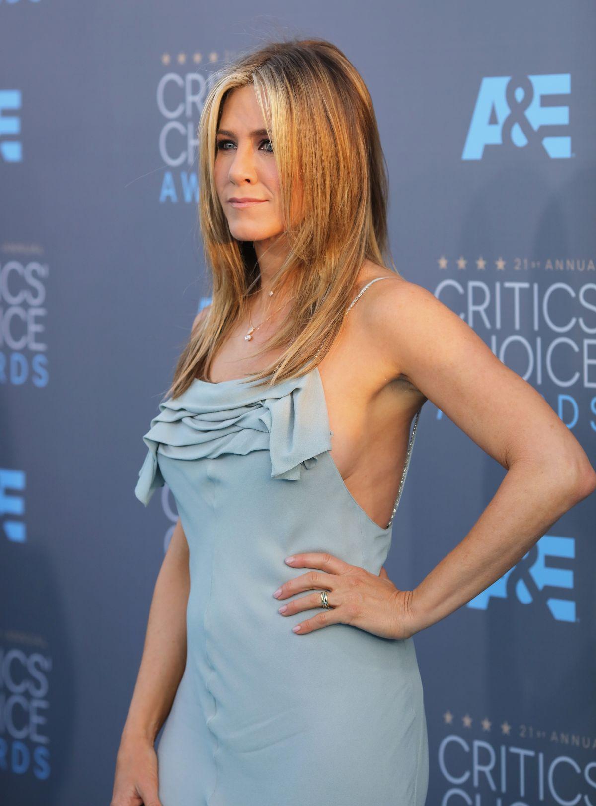 Actress Jennifer Aniston at the 2016 Critics Choice