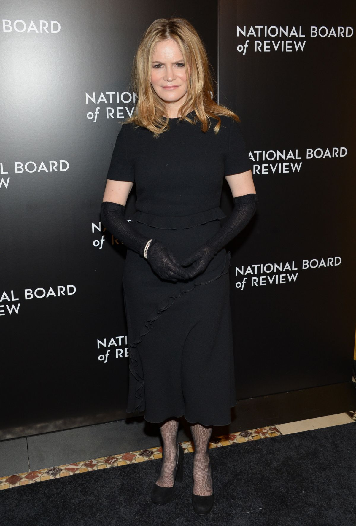 JENNIFER JASON LEIGH at 2015 National Board of Review Gala in New York 01/05/2016