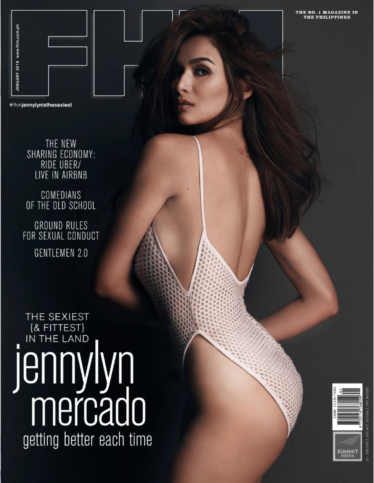 JENNYLYN MERCADO in FHM Magazine, Philippines January 2016 Issue
