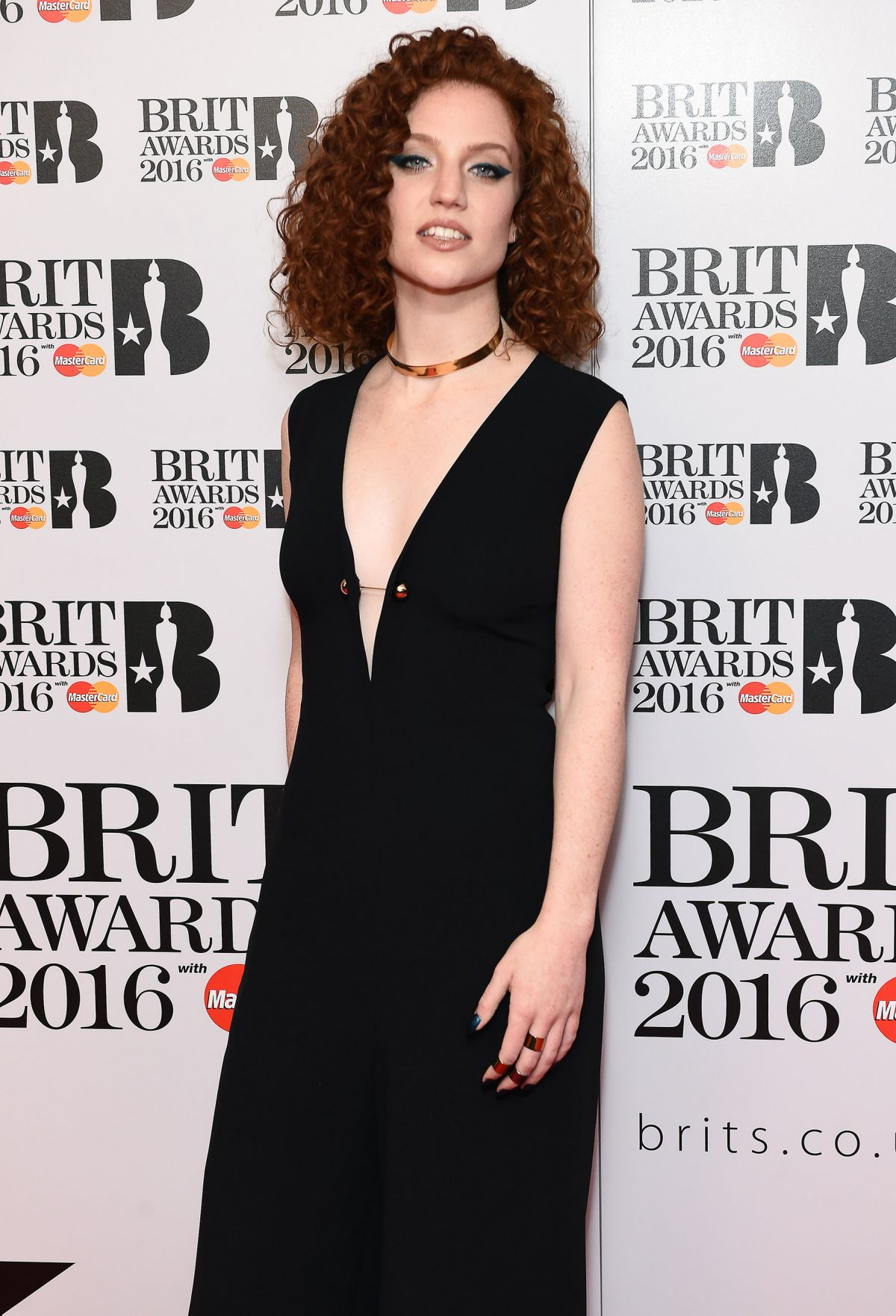 JESS GLYNNE at Brit Awards 2016 Nominations Launch in Waterloo 01/14/2016