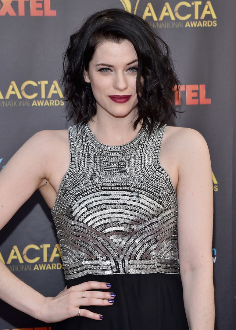 JESSICA DE GOUW at 5th aacta International Awards in Los Angeles 01/29/2016