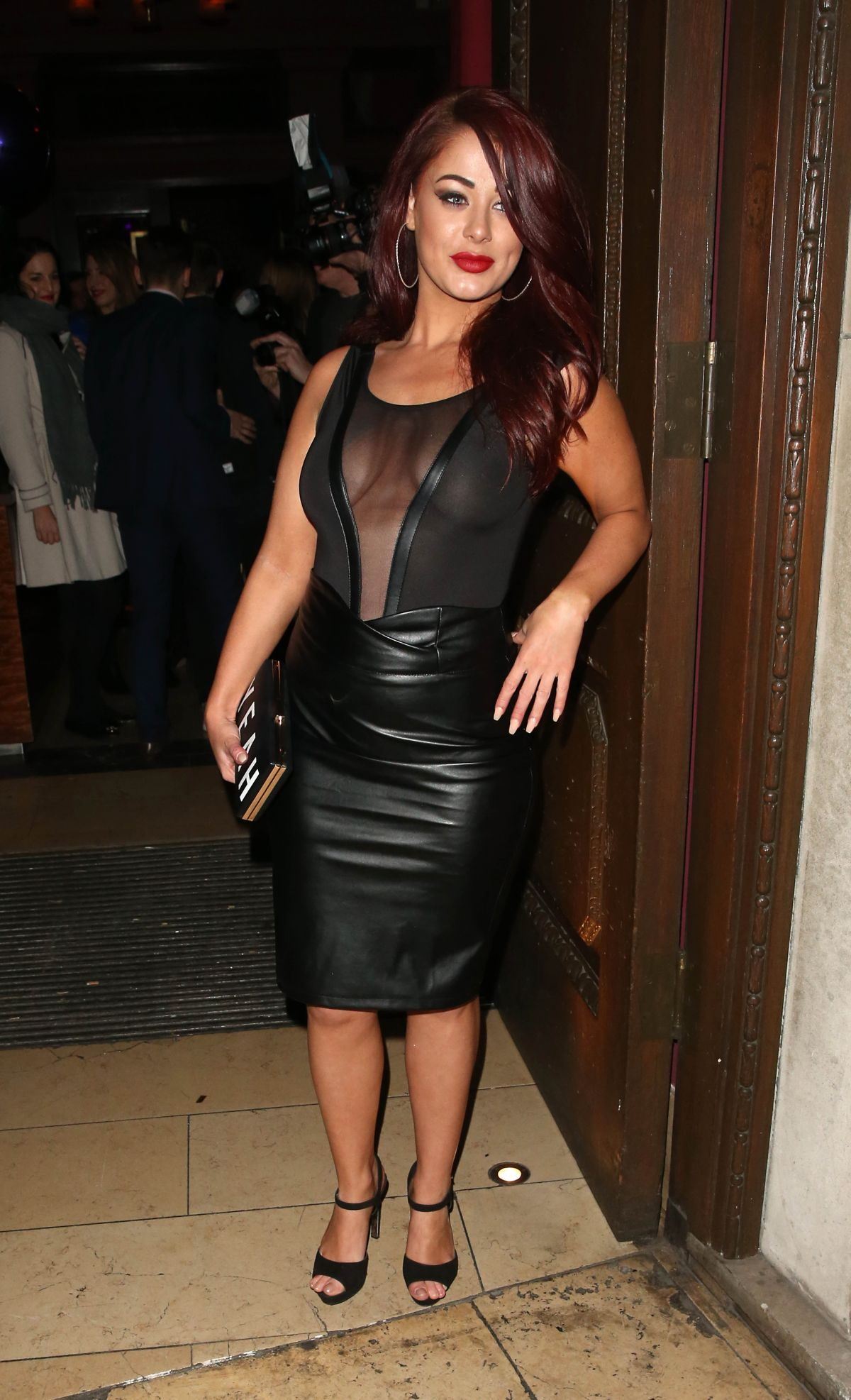 JESSICA HAYES at Steam & Rye Club in London 01/28/2016