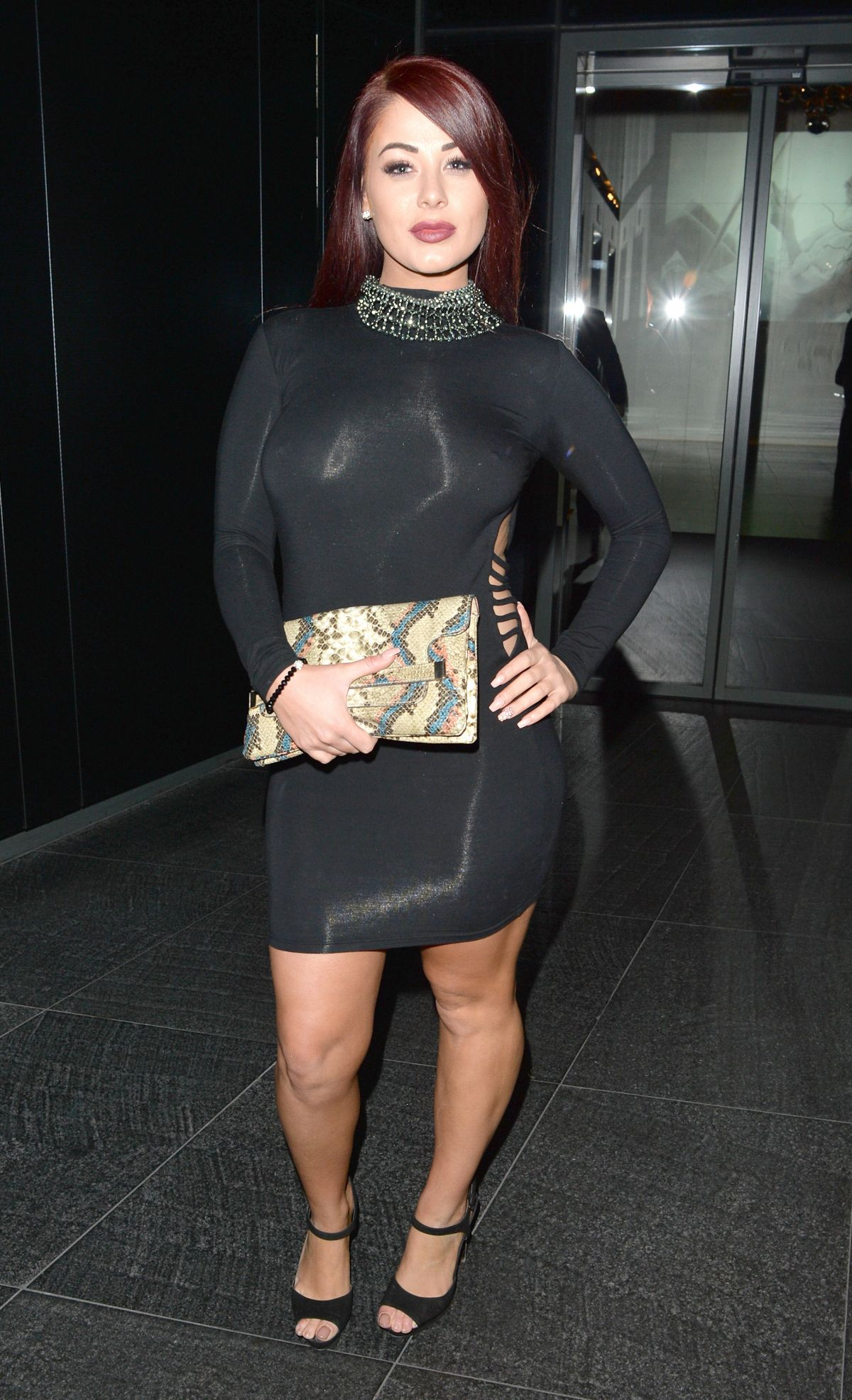 JESSICA HAYES Night Out in London 01/18/2016