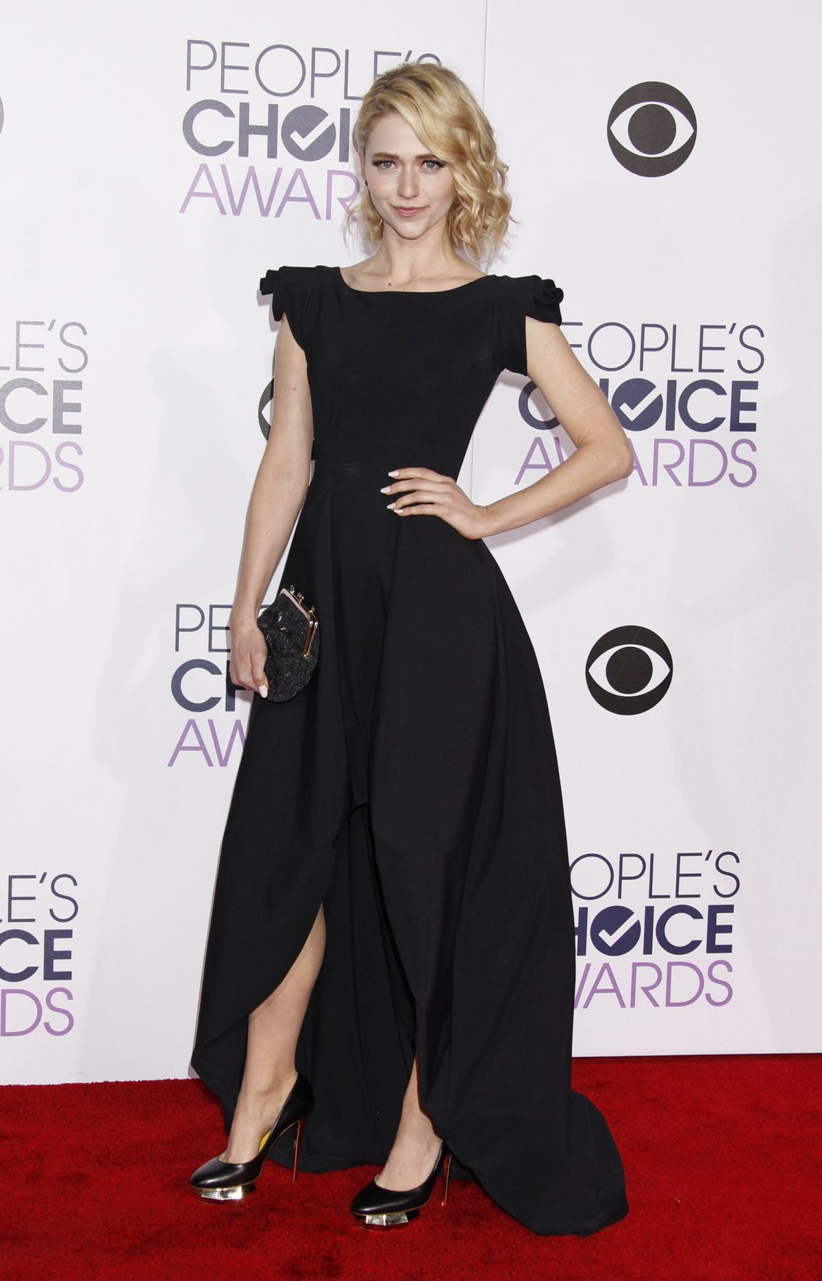 JOHANNA BRADDY at 2016 People's Choice Awards in Los Angeles 01/06/2016