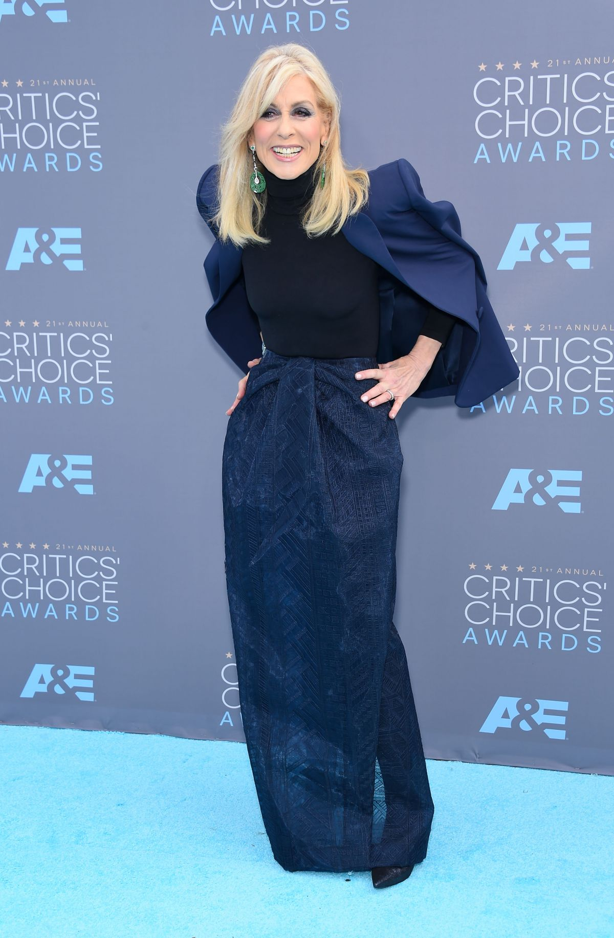 JUDITH LIGHT at Critics's Choice Awards 2016 in Santa Monica 01/17/2016