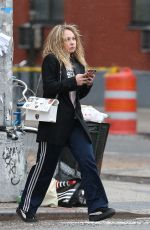 JUNO TEMPLE Out and About in New York 01/17/2016