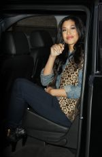 KALI HAWK Leaves Leaves AOL Studio in New York 01/20/2016