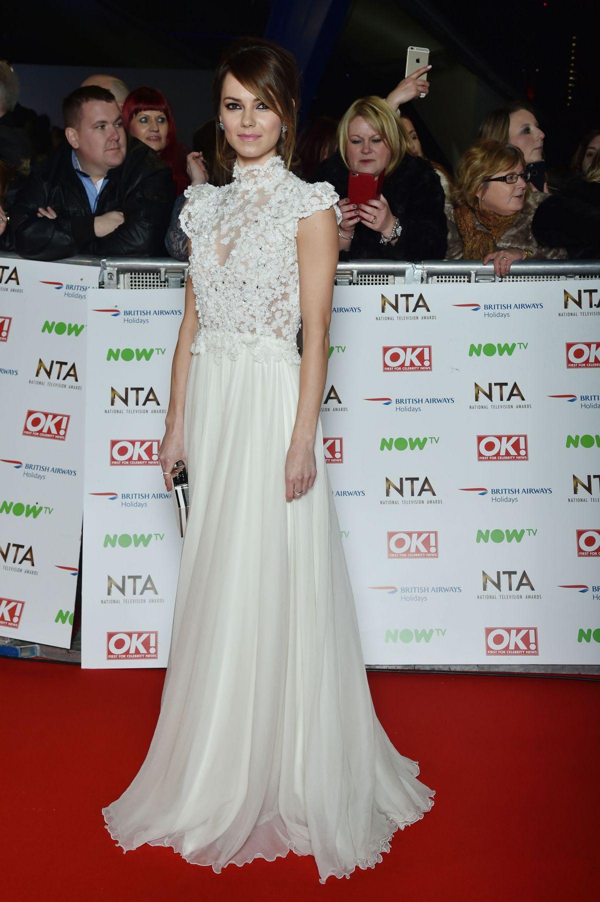 KARA TOINTON at 2016 National Television Awards in London 01/20/2016