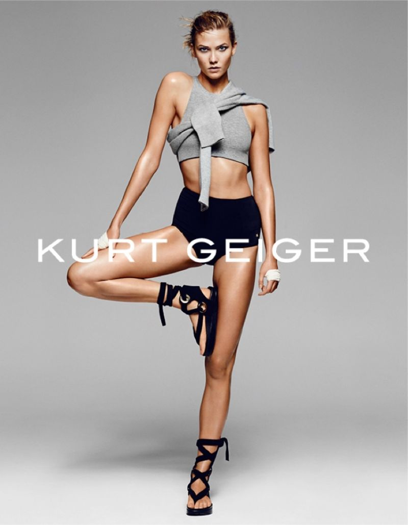 KARLIE KLOSS by Erik Torstensson for Kurt Geiger Spring/Summer 2016 Collection