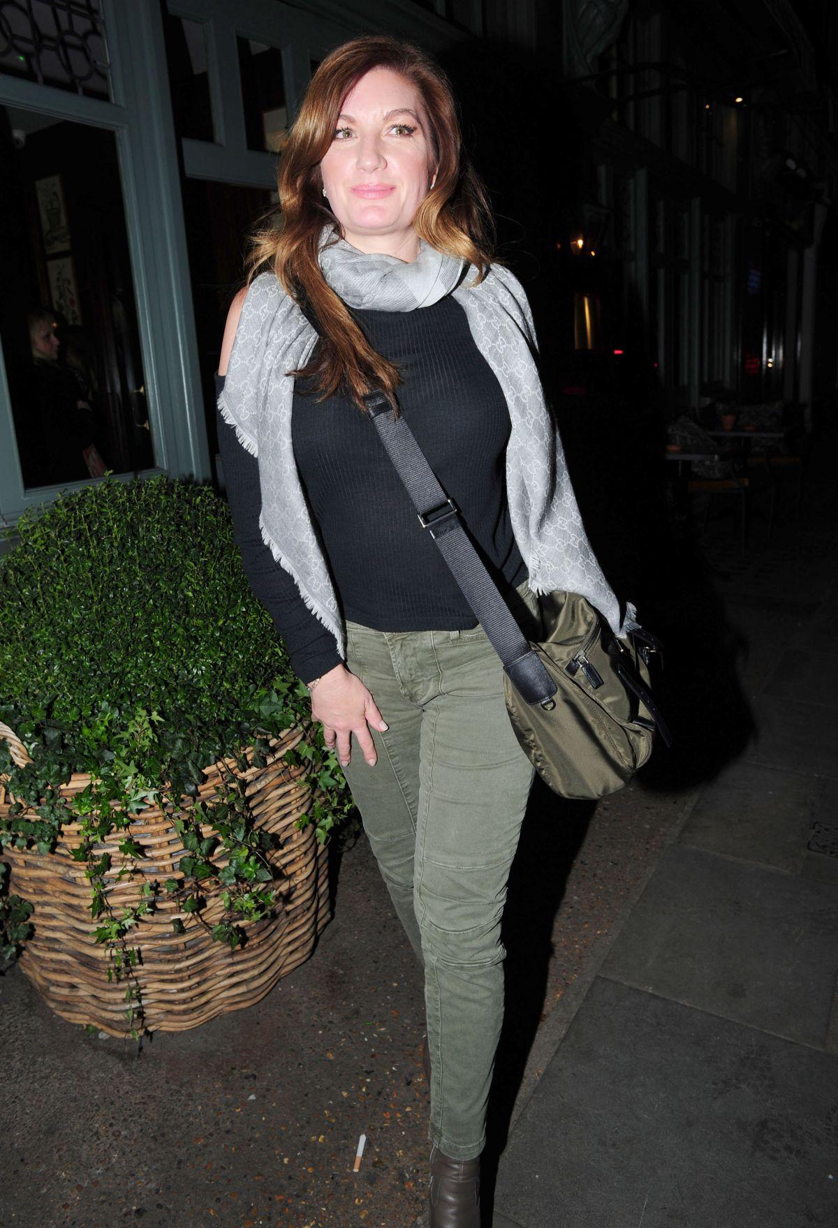 KARREN BRADY at Ivy Garden Restaurant in Chelsea 01/28/2016